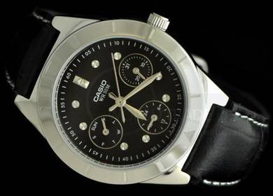 Watch- Casio Ladies Leather LTP2083-1A -ORIGINAL