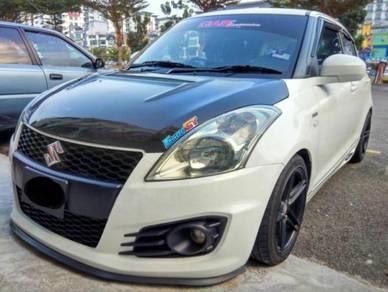 Suzuki swift carbon fibre bonet bonnet thailand
