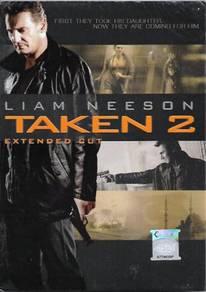 Taken 2 English Movie DVD Lee Neeson Extended Cut