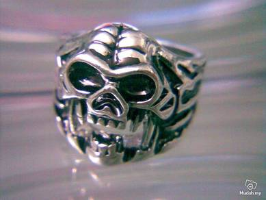 ABRSS-S013 Quality Stainless Alloy Skull Ring Sz 7