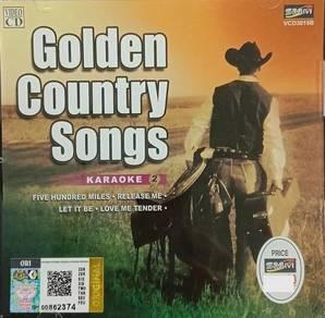VCD Golden Country Songs Karaoke 2