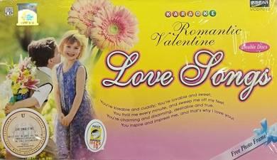VCD Romantic Valentine Love Songs Karaoke