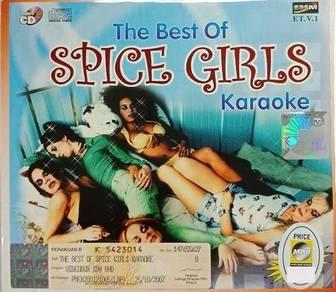 VCD Spice Girls The Best Of Karaoke