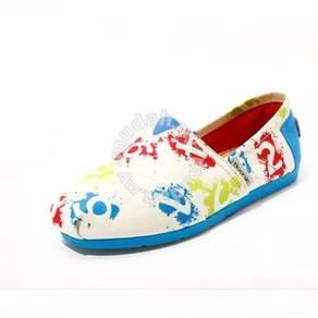 Irregular Canvas Female Shoes3