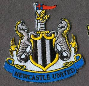 Newcastle United FC Football England Patch