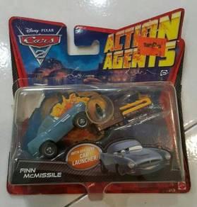 Cars Finn Mcmissile children toy car die cast meta
