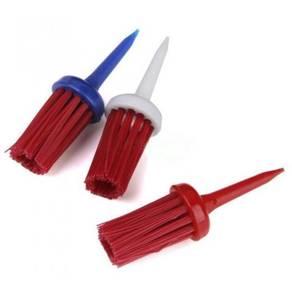 Golf Plastic Bristles Brush Tee