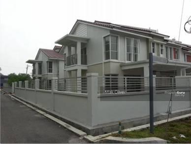 LELONG 790K 47x65sqf Corner2sty Terraced House Equine Seri kembangan