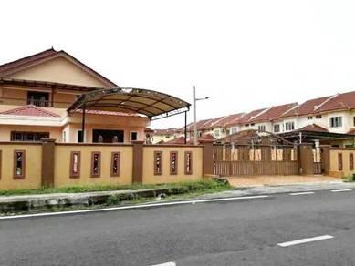 CORNER LOT (5100sqft) Double Storey Taman Sri Sementa Bt 7 Kapar