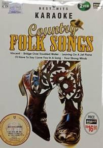VCD Country Folk Songs Best Hits Karaoke