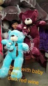 Teddy bear with baby