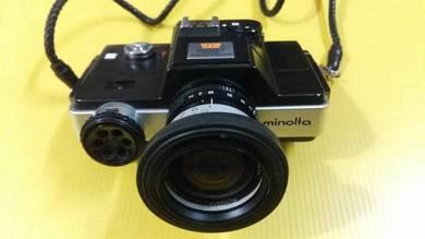 1976 minolta zoom slr 110 camera