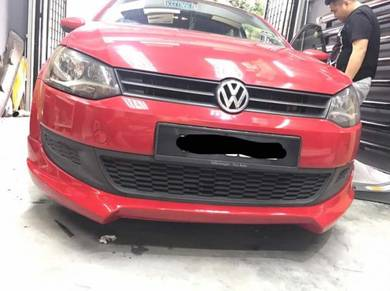 Volkswagen polo rieger bodykit with paint body kit