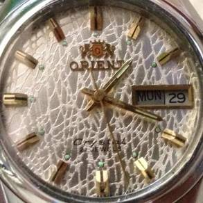 Jam Orient Crystal old school helmet DD watch
