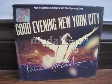 CD Paul McCartney Live 2CD/DVD
