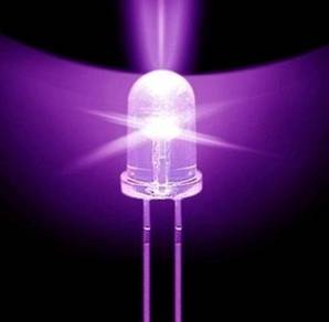 5mm UV LED (395nm)