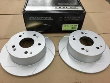 Dixcel Rear Disc Rotor SD Honda Integra DC5 Type R