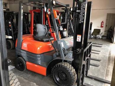 Direct Japan Import TOYOTA Forklift 1.5 Ton Petrol
