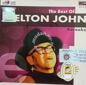 VCD Elton John The Best Of Karaoke