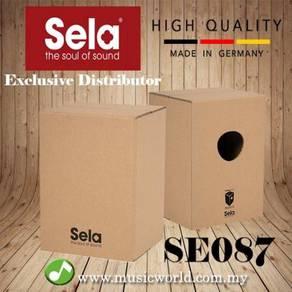 Sela se087 carton cajon with snare sound