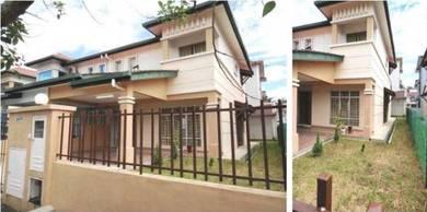 Gated & Guarded Double Storeys Semi-D at Taman Kipark, Puchong