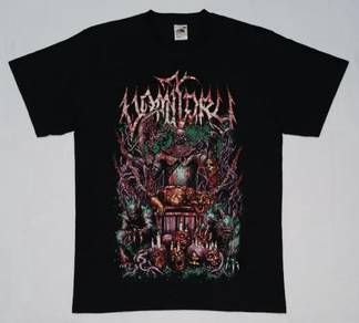 Vomitory This Is Where Your Life Ends Band SIZE M
