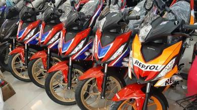 Honda rs150 ANNIVERSARY PROMO