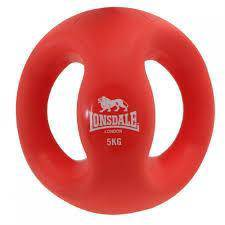 Lonsdale Handle Medicine Ball 5kg Besi Dumbell Gym