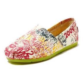 Irregular Canvas Female Shoes1