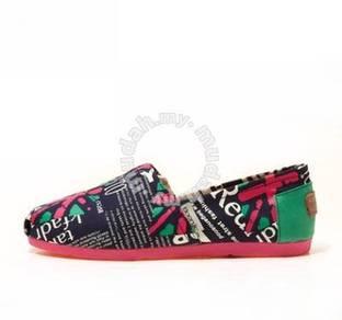 Irregular Canvas Female Shoes11