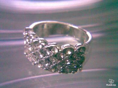 ABRSM-D019 Dazzle Style Jewelry luxury Cystal Ring