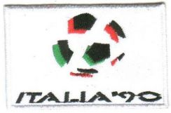 1990 14th FIFA World Cup Italy Football Patch