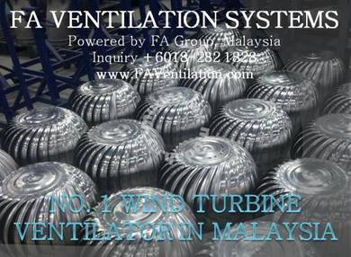 21-PLE Wind Ventilator Fan US & FREE Air Vents