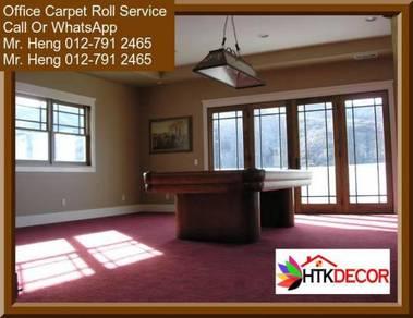 Office Carpet Roll with Expert Installation 7CVA