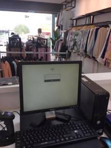 Mesin Cashier POS System Kaunter Cash Register 580