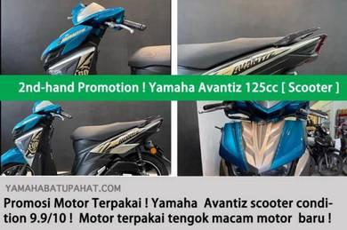 Yamaha avantiz secondhand !! loan kedai muka murah