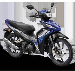 HONDA DASH 125cc injection FREE GIVI BOX RM 379