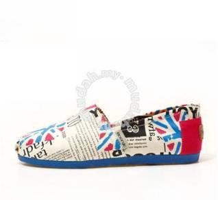 Irregular Canvas Female Shoes12