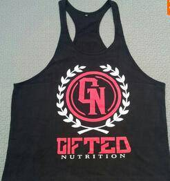 Phil Heath Gifted Grey Singlet (Baju Sport Gym)