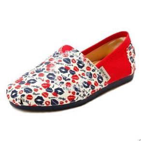 Irregular Canvas Female Shoes13