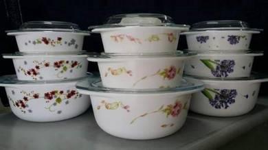 3 pcs casserole hg pot