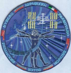 ISS Expedition 37 Mission NASA Space Patch