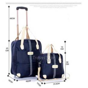 2 in 1 travel bag / trolley bag 10