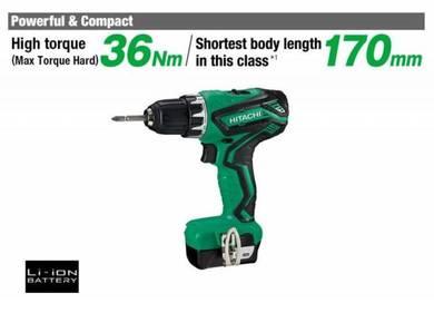 Hitachi 10.8V Compact Cordless Driver Drill DS10DA