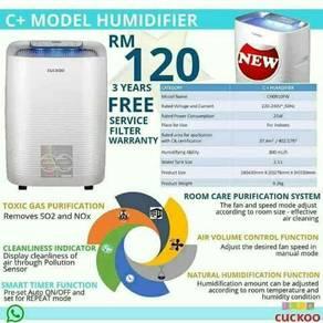 Cuckoo penapis udara c+ model humidifier #2