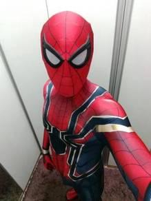 Avenger Infinity war Spiderman cosplay costume
