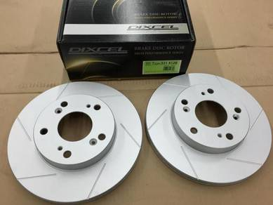 Dixcel Front Disc Rotor Type SD Honda CR-Z CRZ