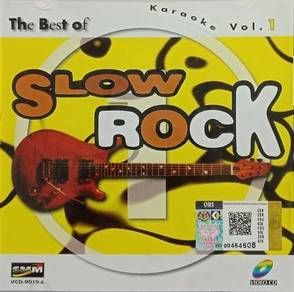 VCD The Best Of Slow Rock Karaoke Vol.1
