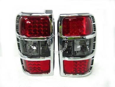 MMC Pajero V body LED Black Red Tail Lamp 4wd 4x4