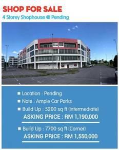 4 Storey Shophouse at Pending Kuching